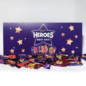 Personalised Cadbury Heroes Large Letterbox Gift 580g