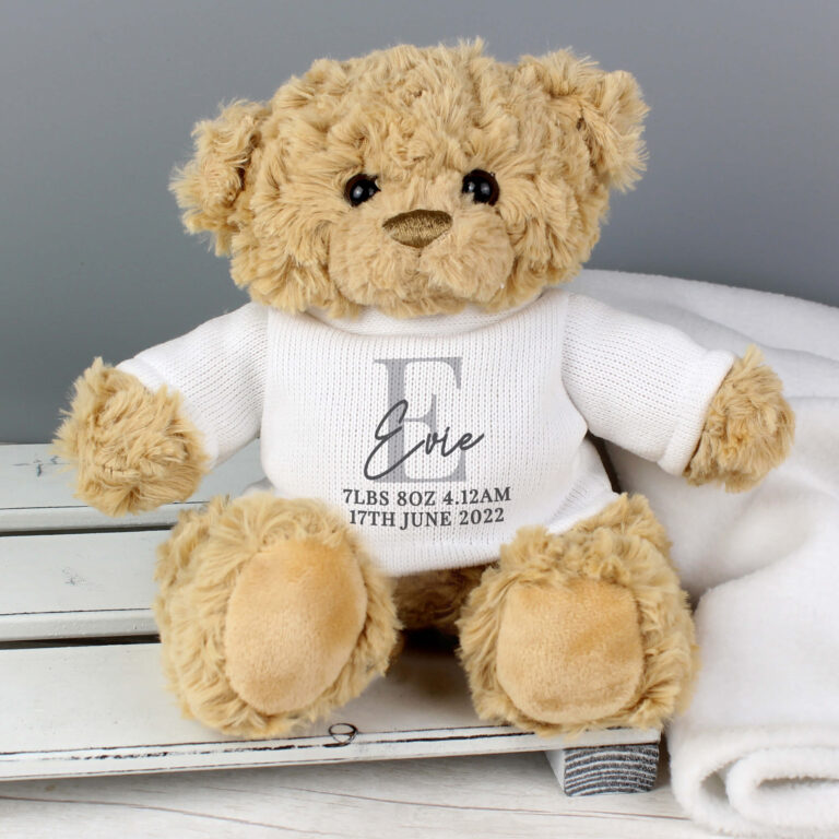 Personalised Initial Teddy Bear