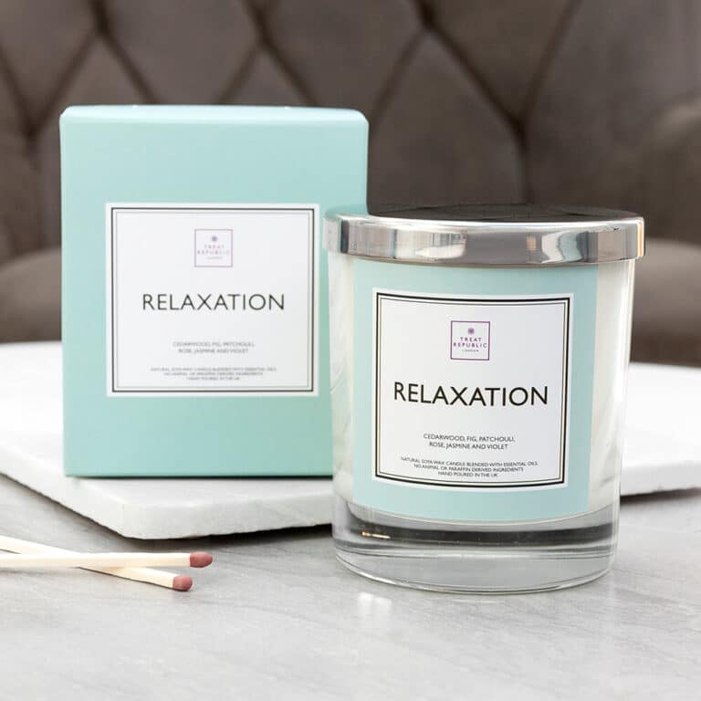 Personalised Relaxation Candle