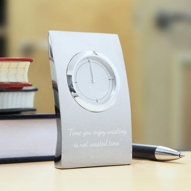 Personalised Pillow Clock