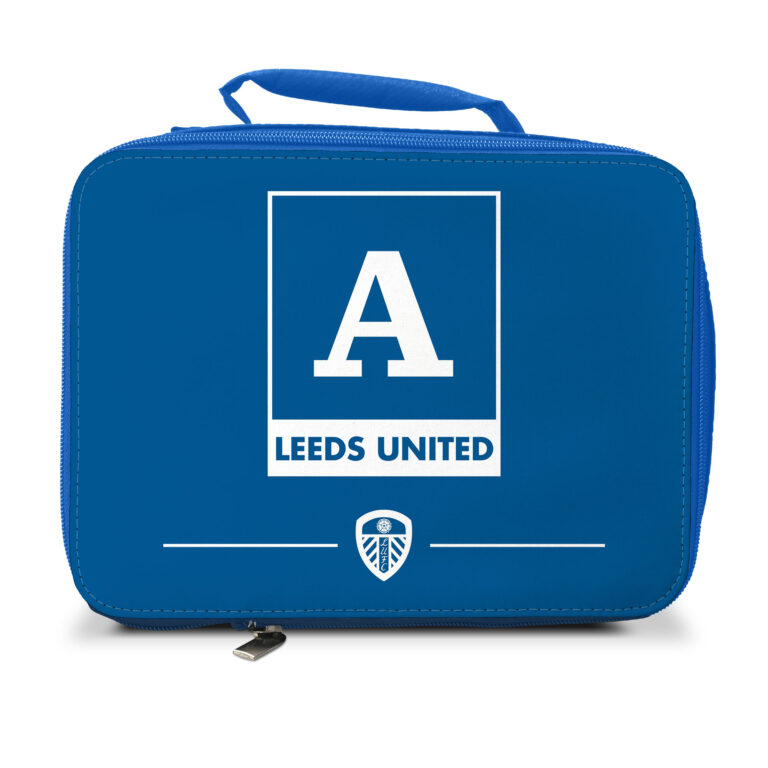Personalised Leeds United FC Insulated Lunch Bag