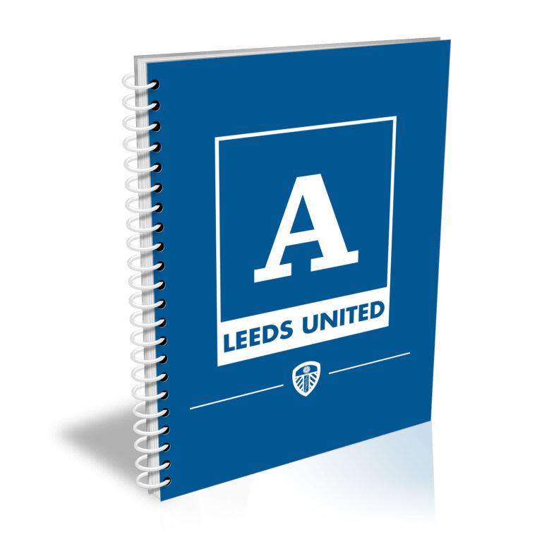 Personalised Leeds United FC A5 Notepad
