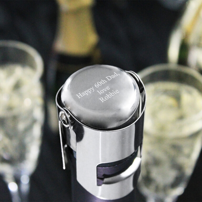Personalised Metal Champagne Stopper