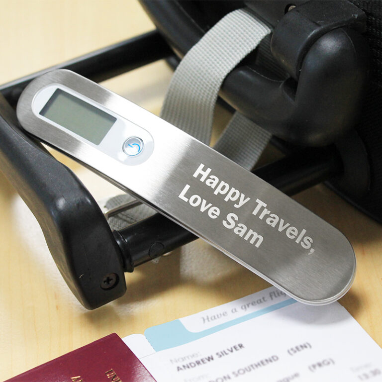 Personalised Luggage Scales