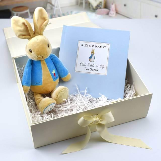 Personalised Peter Rabbit Gift Set