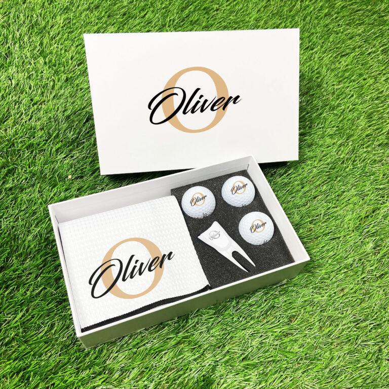 Personalised Golf Gift Set