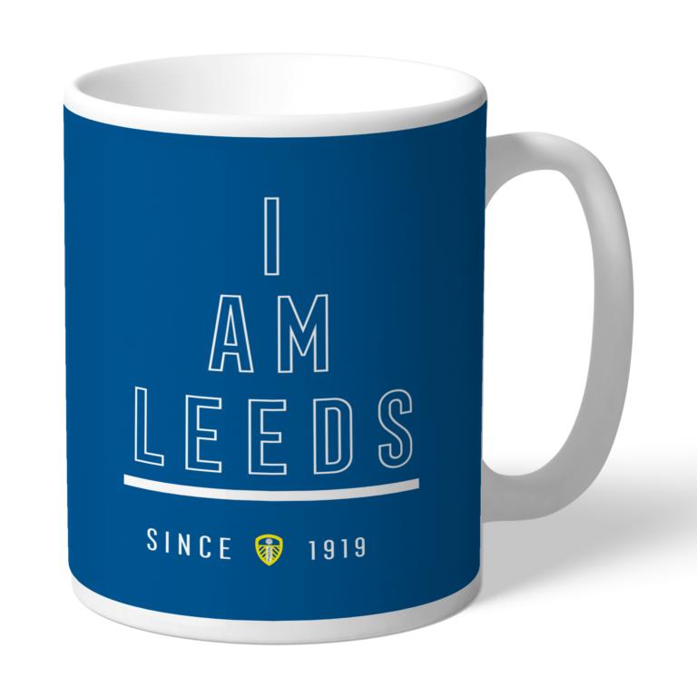 Personalised Leeds United FC I Am Mug