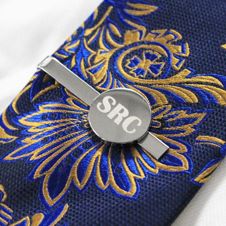 Personalised Buckingham Tie Clip