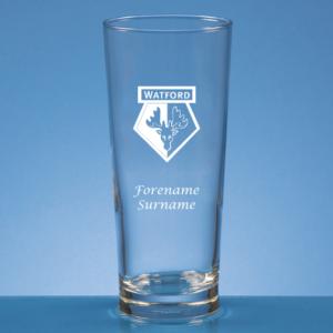 Personalised Watford FC Beer Glass