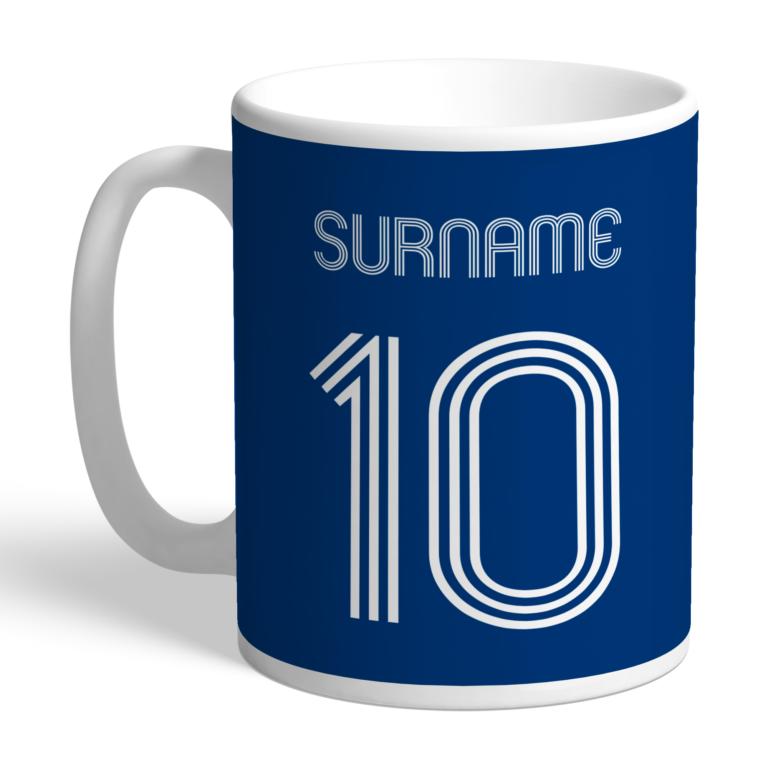 Personalised Bolton Wanderers FC Retro Shirt Mug