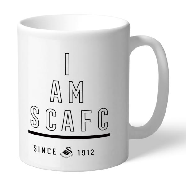 Personalised Swansea City FC I Am Mug