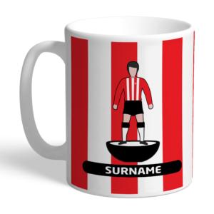 Personalised Sheffield United FC Player Figure Mug