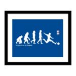 Personalised Birmingham City FC Evolution Print