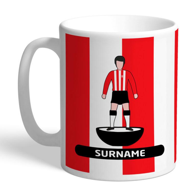 Personalised Southampton FC Player Figure Mug