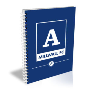 Personalised Millwall FC A5 Notepad
