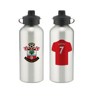 Personalised Southampton FC Aluminium Water Bottle