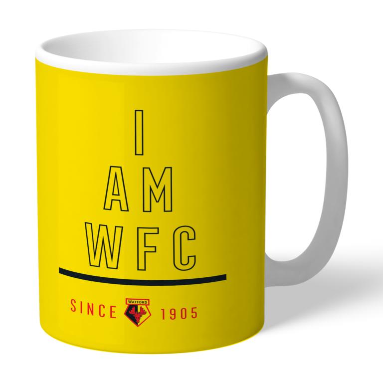 Personalised Watford FC I Am Mug