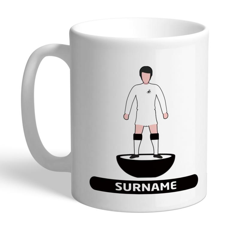 Personalised Swansea City FC Player Figure Mug