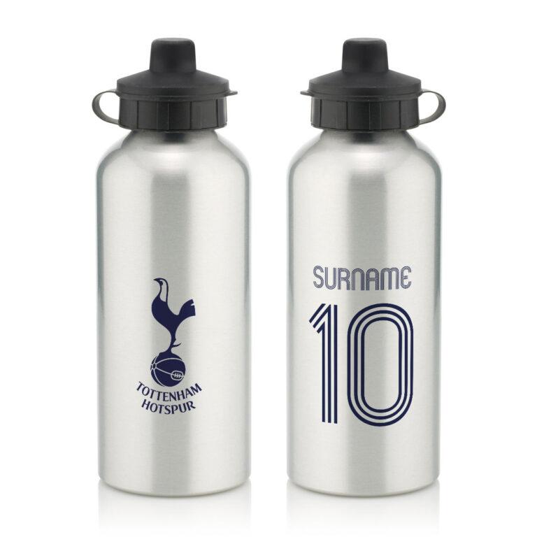 Personalised Tottenham Hotspur FC Retro Shirt Water Bottle