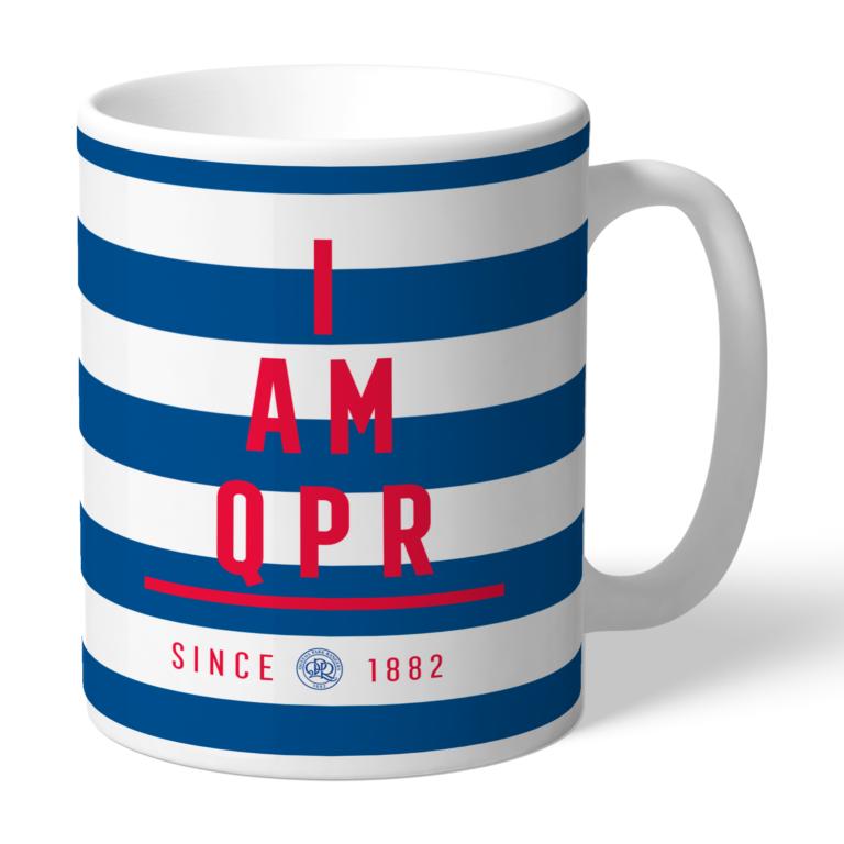 Personalised QPR FC I Am Mug