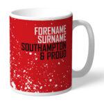 Personalised Southampton FC Proud Mug