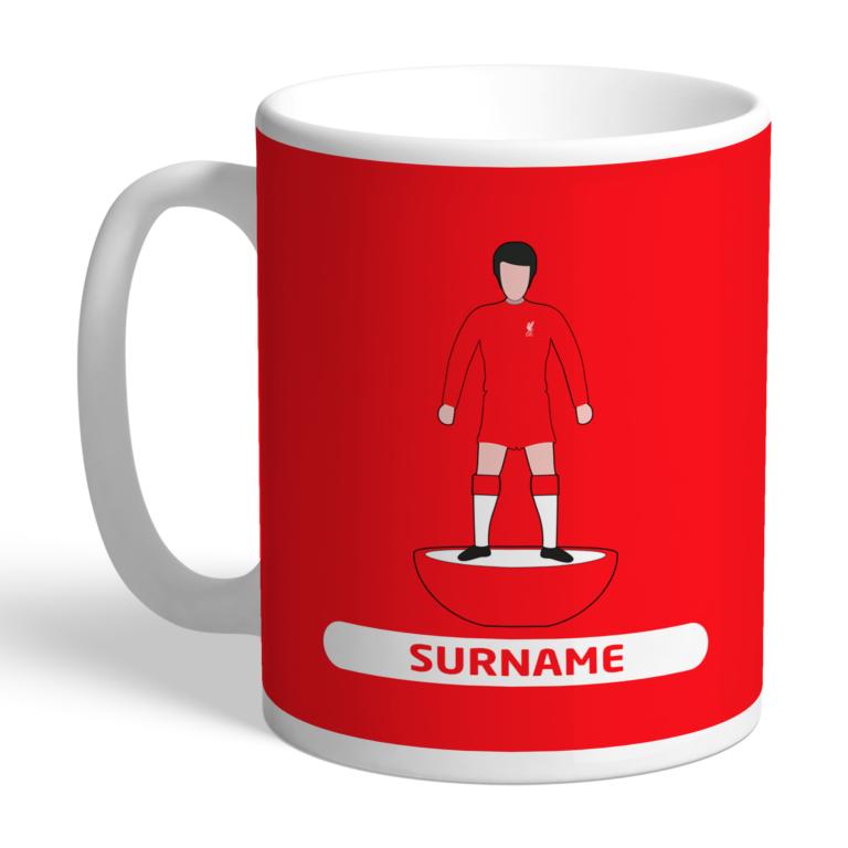 Personalised Liverpool FC Player Figure Mug