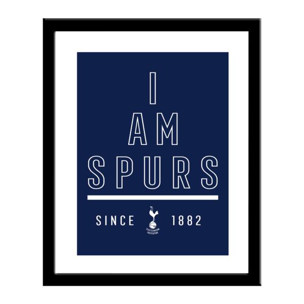 Personalised Tottenham Hotspur FC I Am Print