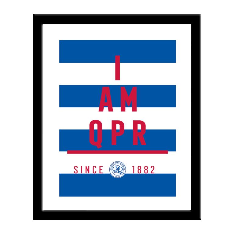 Personalised QPR FC I Am Print