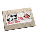Personalised Sunderland FC Street Sign Jigsaw