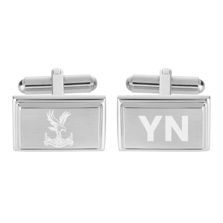 Personalised Crystal Palace FC Crest Cufflinks