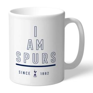 Personalised Tottenham Hotspur FC I Am Mug