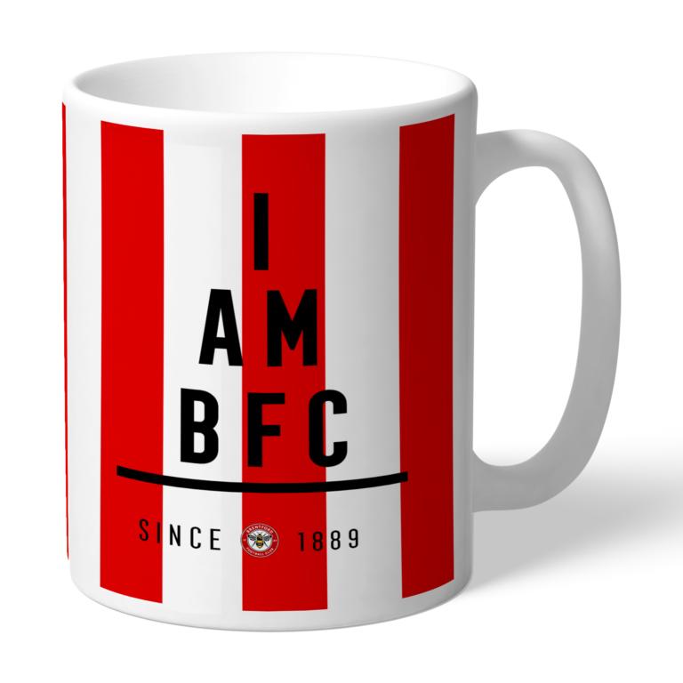 Personalised Brentford FC I Am Mug