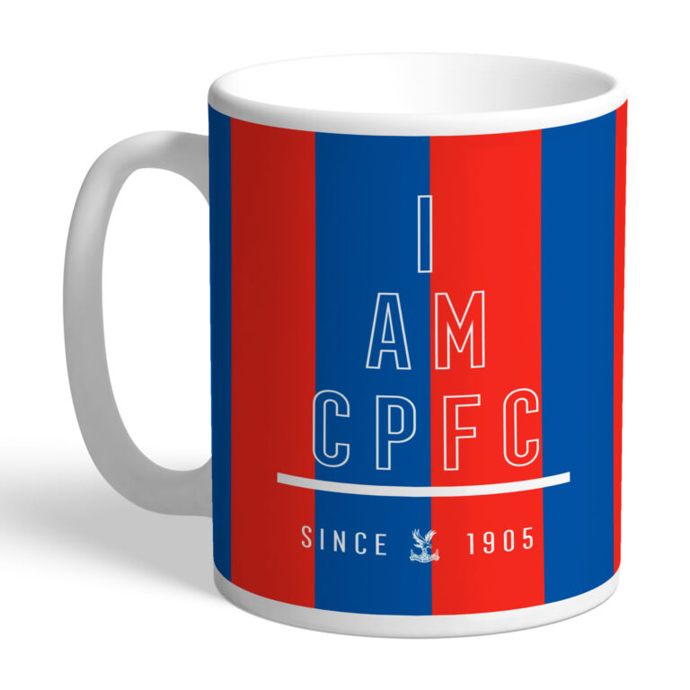 Personalised Crystal Palace FC I Am Mug