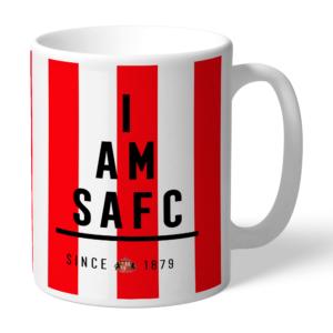 Personalised Sunderland FC I Am Mug
