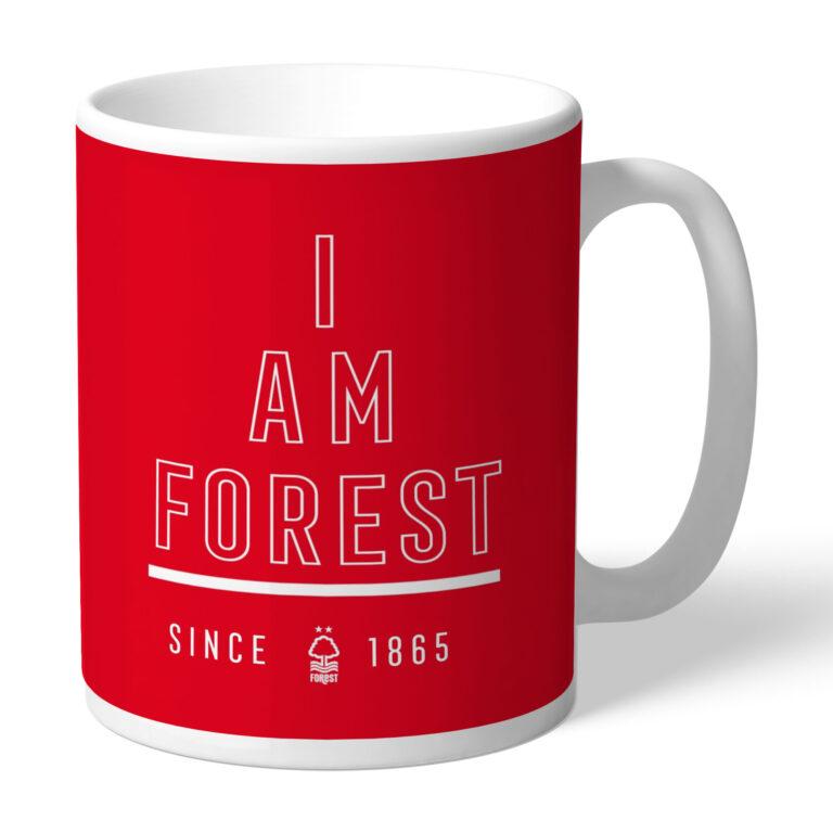 Personalised Nottingham Forest FC I Am Mug