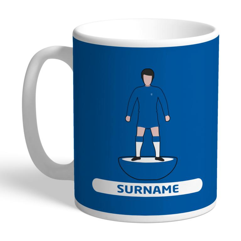 Personalised Cardiff City FC Player Figure Mug