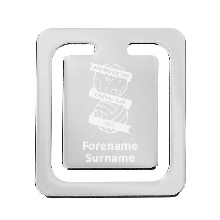 Personalised Birmingham City FC Crest Bookmark