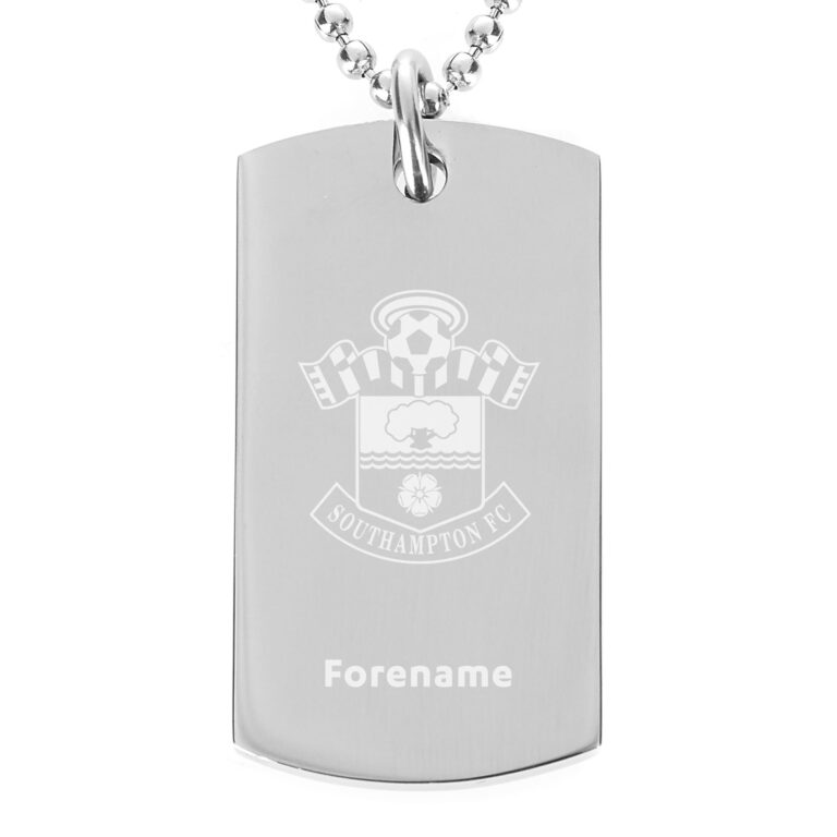 Personalised Southampton FC Dog Tag