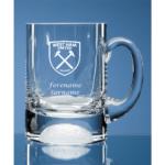 Personalised West Ham United FC Ball Base Tankard