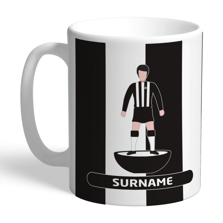 Personalised Newcastle United FC Player Figure Mug