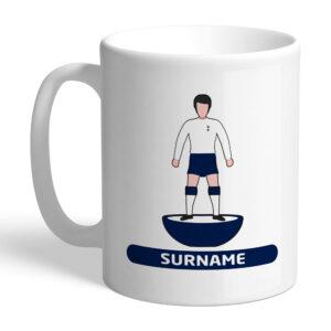 Personalised Tottenham Hotspur FC Player Figure Mug