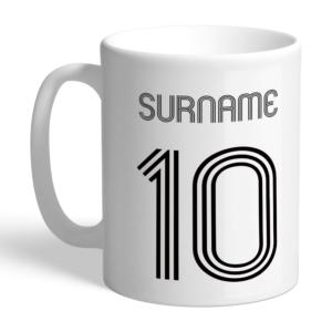 Personalised Swansea City FC Retro Shirt Mug