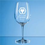Personalised Wolverhampton Wanderers FC Wine Glass