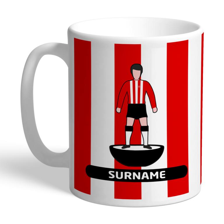 Personalised Brentford FC Player Figure Mug