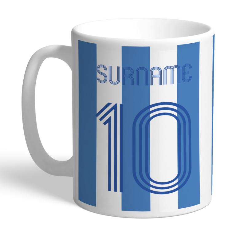 Personalised Sheffield Wednesday FC Retro Shirt Mug