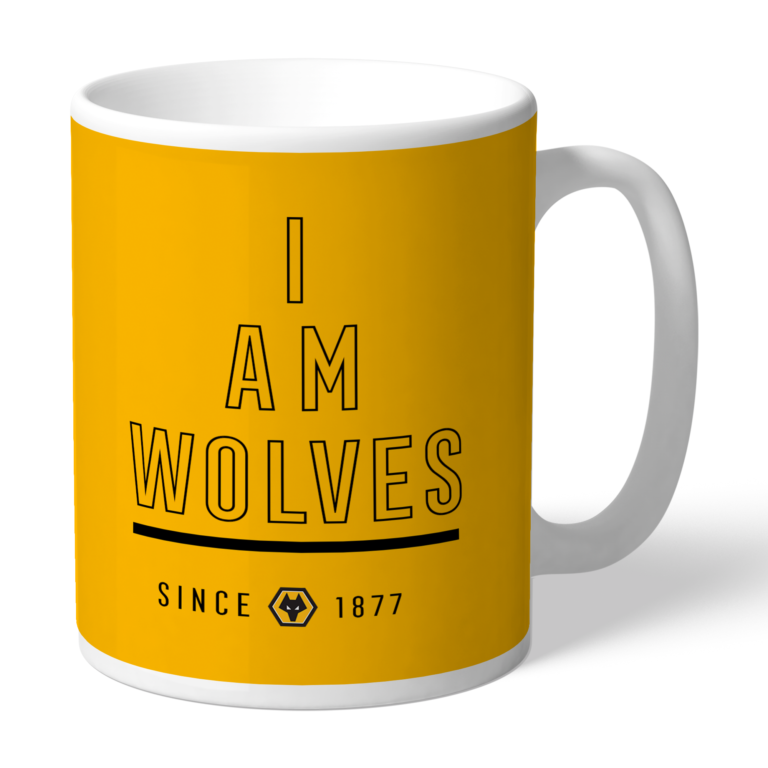 Personalised Wolverhampton Wanderers FC I Am Mug