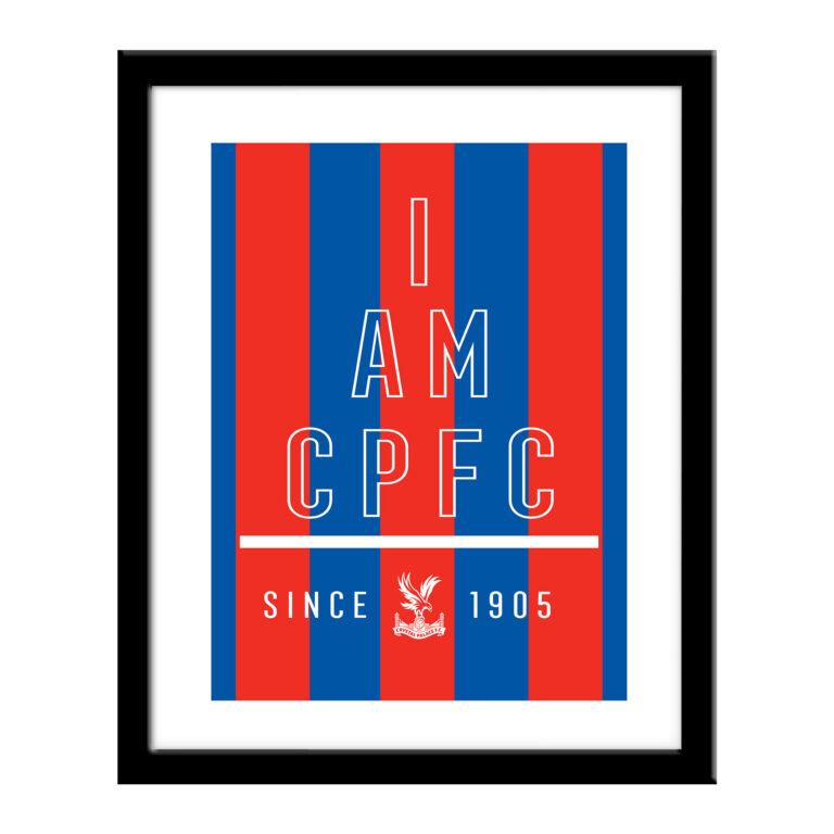 Personalised Crystal Palace FC I Am Print