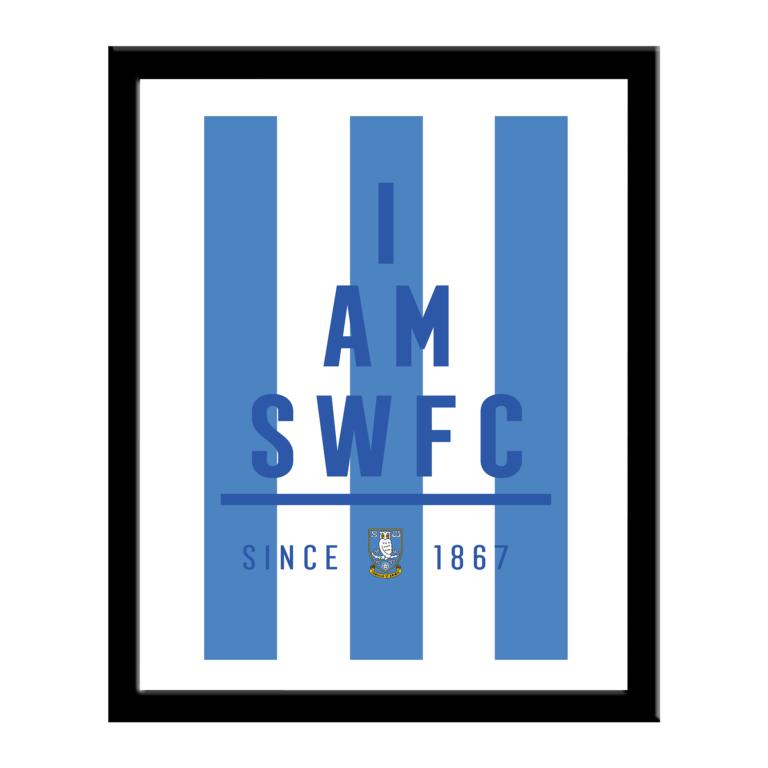 Personalised Sheffield Wednesday FC I Am Print
