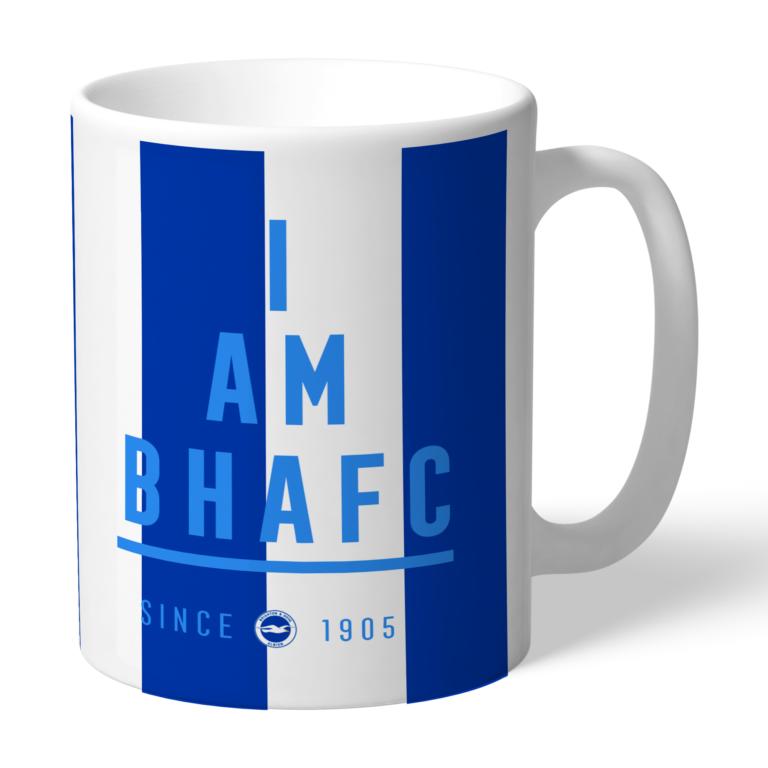 Personalised Brighton & Hove Albion FC I Am Mug