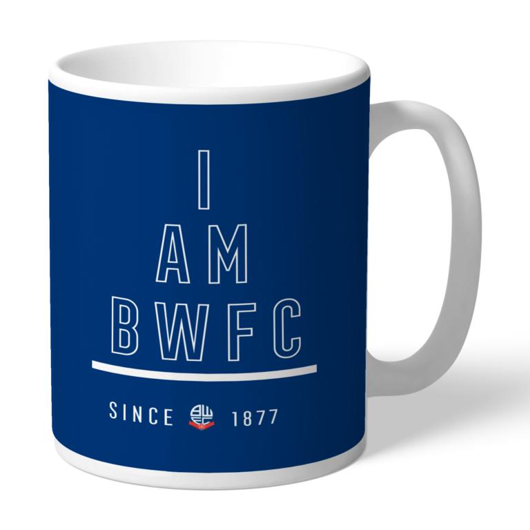 Personalised Bolton Wanderers FC I Am Mug